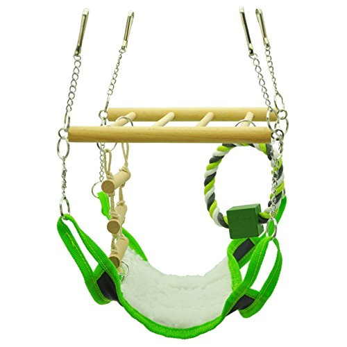Niteangel Hamster and Gerbil Hammock, Suspension Bridge 51U8EZwiEWL