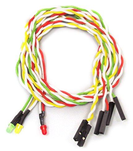 アイネックス ケース用LEDケーブルセット3φ丸型 LED-03MS