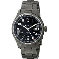 Hamilton Men's H70565133 Khaki Field Black Dial Watch
