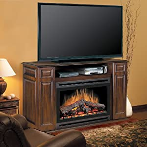 Photo Dimplex Langley 55 Tv Stand With Electric Fireplace Images