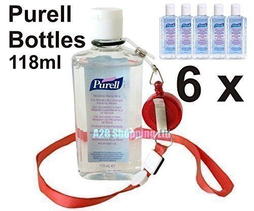 6-bottles-purell-hand-sanitizer-alcohol-rub-gel-118ml-anti-bacterial-sanitiser
