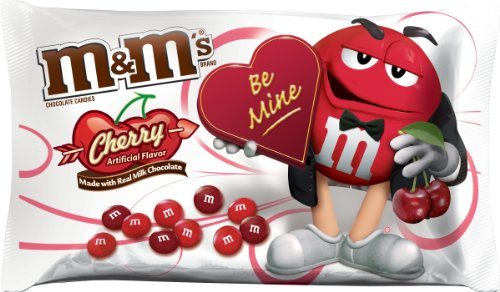 M&M's Valentine's Chocolate Candies, Cherry,