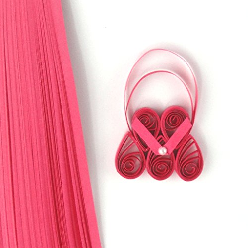 Quill On Quill On Quilling Paper, Dark Pink
