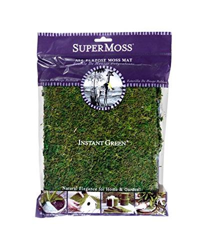 SuperMoss (22420) InstantGreen Moss Mat, Fresh Green, 18 x 16