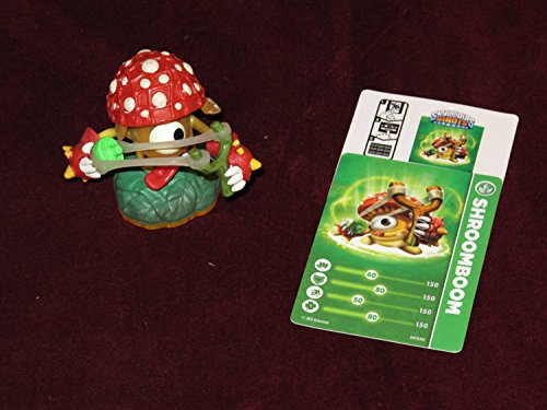 Skylanders Giants LOOSE Mini Figure Shroomboom Includes Card Online Code - 1