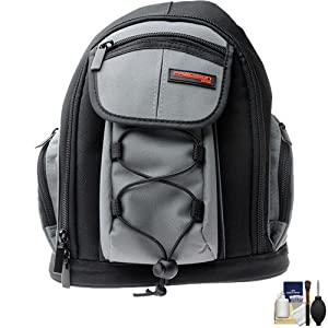 Precision Design PD-MBP ILC Digital Camera Mini Sling Backpack with Cleaning Kit for Panasonic Lumix DMC-G3, G10, GF2, GF3, GF5, GH2, GX1 Cameras