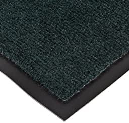 NoTrax T37 Fiber Atlantic Olefin Entrance Carpet Mat, for Wet and Dry Areas, 4\' Width x 6\' Length x 3/8\