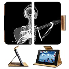 buy Asus Google Nexus 7 1St Generation Flip Case Xray Skeleton In Headphones Playing Guitar Photo 20747222 By Liili Customized Premium Deluxe Pu Leather Generation Accessories Hd Wifi Luxury Protector