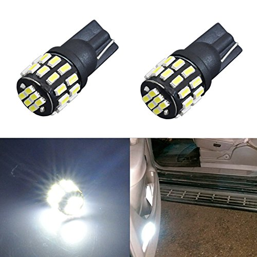JDM ASTAR Extremely Bright 30-EX Chipsets 168 175 194 2825 W5W T10 New Style LED Bulbs,Xenon White (1999 Jeep Factory Service Manual compare prices)