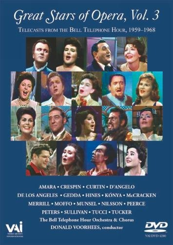 Great Stars of Opera - Vol. 3 [DVD] [NTSC]