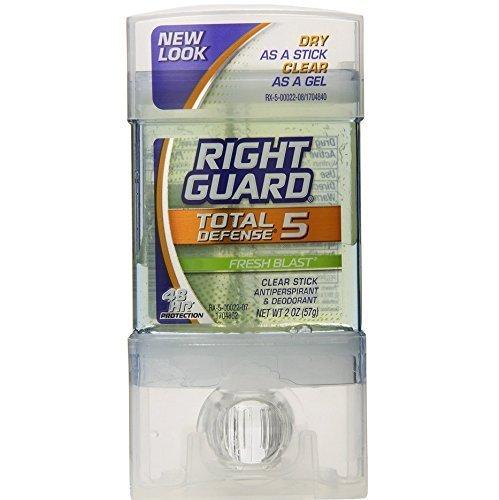 right-guard-total-defense-5-clear-stick-antiperspirant-deodorant-fresh-blast-net-wt-2-oz-57-g-pack-o