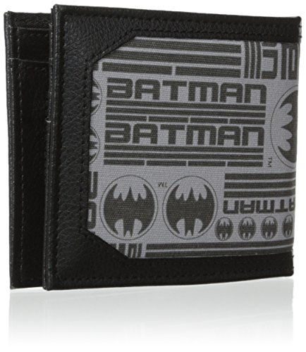 Batman Men's Canvas Bi-Fold Wallet at Gotham City Store