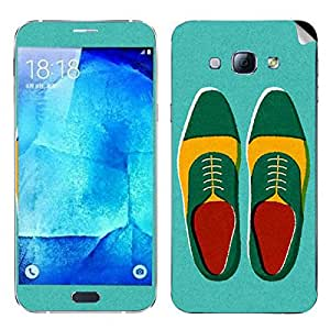 Theskinmantra Shoes Oxford Samsung Galaxy A8 mobile skin