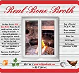 Real Organic Chicken Bone Broth: twin-pack