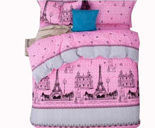 Paris Comforter Set Girls