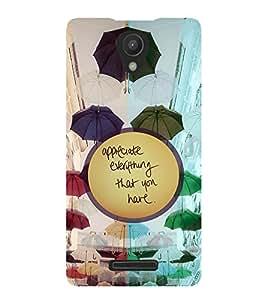 PrintVisa Quotes & Messages Attitude Life 3D Hard Polycarbonate Designer Back Case Cover for Xiaomi Redmi Note 2