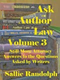 img - for Ask Author Law Volume 3 book / textbook / text book