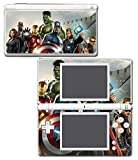 Avengers Nick Fury Hawkeye Black Widow Thor Hulk Iron Man Video Game Vinyl Decal Skin Sticker Cover for Nintendo DS Lite System