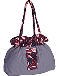 Bhagidhari Handloom Cotton 5 L Beach Tote Bag (SUSY-5)