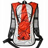 praise ランニングバッグ サイクリングバッグ スポーツバッグ トレイルランニング リュック 超軽量 アウトドアバッグ レッド