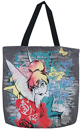 Tinkerbell Disney Canvas Tote Bag