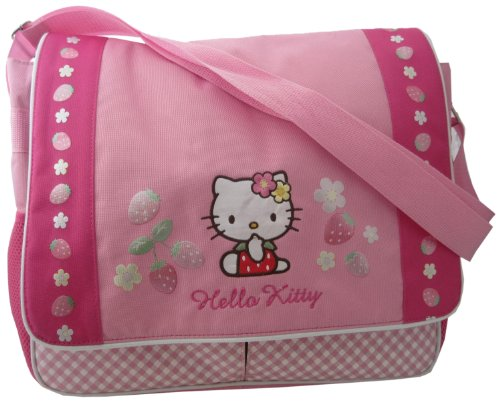 hello kitty diaper bag strawberries flowers import it all. Black Bedroom Furniture Sets. Home Design Ideas