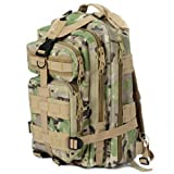 Sport Outdoor Military Rucksacks Tactical Molle Backpack Camping Hiking Trekking Bag-Camouflage