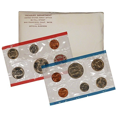 US Mint Uncirculated 1971 Coin Set