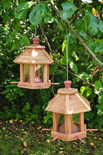 vogelhaus vogelh uschen natur holz natur neu. Black Bedroom Furniture Sets. Home Design Ideas