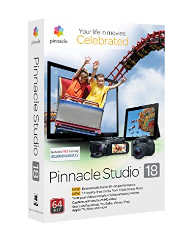 Buy Pinnacle Studio 18 Ultimate