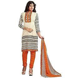 Merito Ethnic Cotton Dress Material