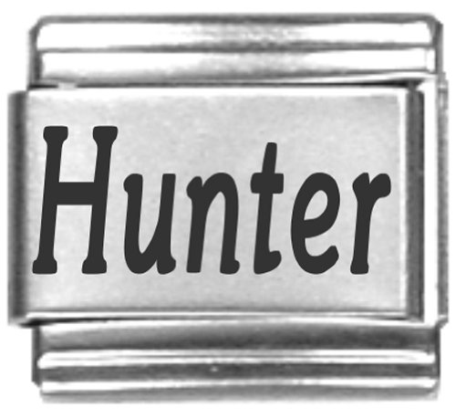 Hunter Laser Name Italian Charm Link