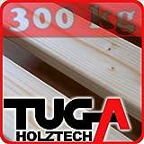 TUGA-Holztech 30mm Rollrost Rolllattenrost 140x200 cm