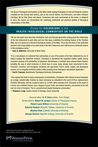 Colossians (Brazo's Theological Commentary on the Bible)
