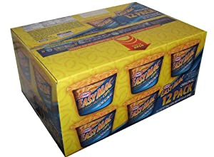 Kraft Easy Mac Original Macaroni and Cheese Individual Heat and Serve Cups, Pack of 12-2.05 ounce cups