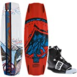 Liquid Force Watson Hybrid Wakeboard 135 Mens + Element Bindings Sz 8-12 by Liquid Force