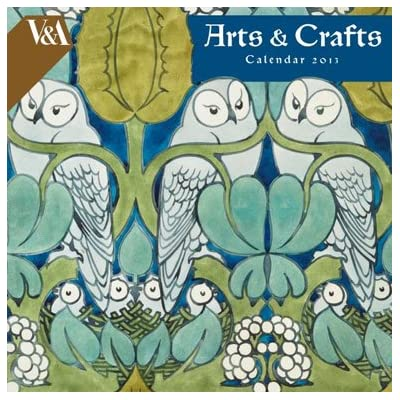 V&A Arts and Crafts Wall Calendar 2013