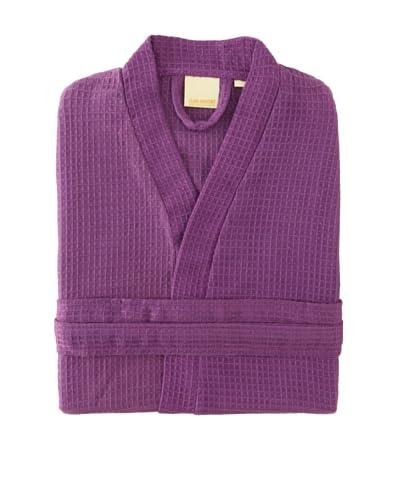 "Espalma Club Waffle Resort Robe, Purple, 39"""