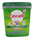 Cascade ActionPacs Dishwasher Detergent With Dawn Grease Fighting Power Citrus Scent 90 Count