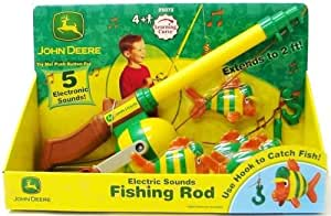 Toy / Game John Deere - Electronic Fishing Pole w/ splashing and bubbling sounds (age from 4 years and up)