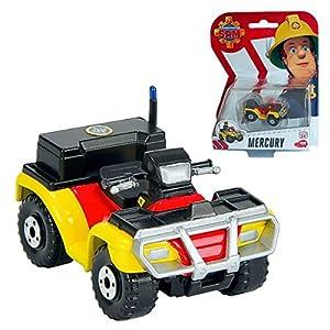 Fireman Sam - The Cast mini series vehicle - Quad Bike Mercury