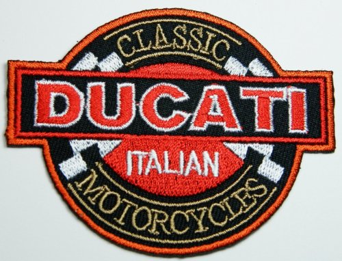 """AMA motorcycle Patch 4 7//8/"""" LARGE thermocollant iron-on American Motorcyclist Assoc."""