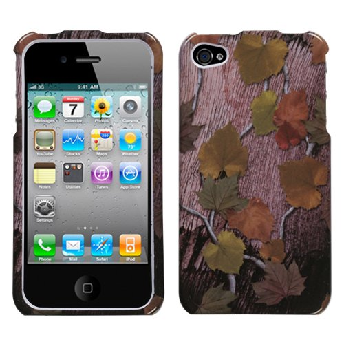 Apple iPhone 4 Hunter Phone Hard Case Snap on Cover Protector Sleeve + LCD Screen Guard w/Cleaning Cloth + Free Bio Degradable Screen Wipe