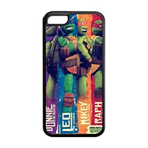 custom tmnt mutant turtles for iphone 5c rubber cover
