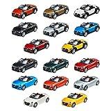 ダイハツ コペン シリーズ (DAIHATSU Copen) 1/32 プルバックミニカー 全16種セット (8色×2車種)