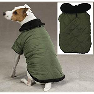 Thermal Lined Jacket Coat XL Dog Puppy Apparel by Zack & Zoey