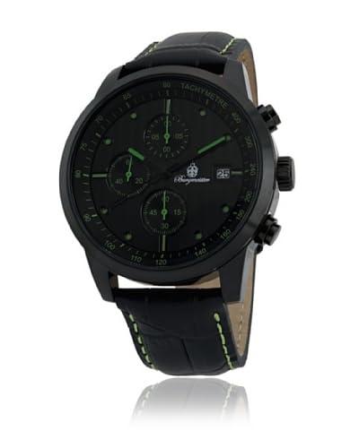 Burgmeister Reloj de cuarzo Maui, Bm607-620B Negro 44 mm