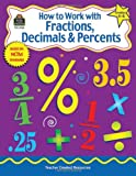 How to Work with Fractions, Decimals, and Percents, Grades 4-6