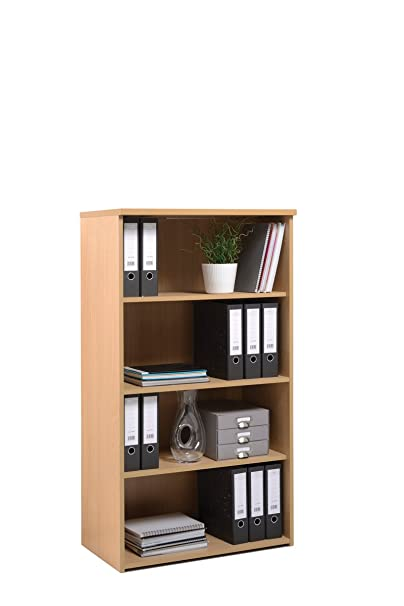 self Colour Bookcase - Length: 470 MM; Width: 800 MM; Height: 1440 MM; Color: Walnut