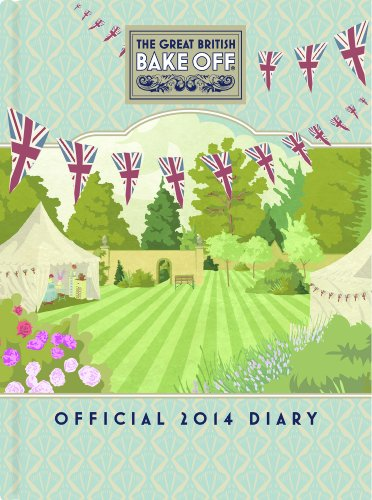 Great British Bake Off 2014 Desk Diary Officetools Center